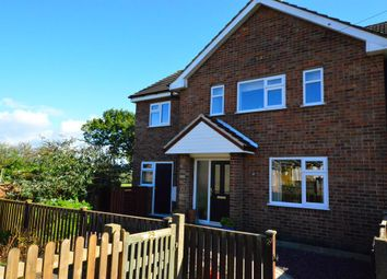 Thumbnail 3 bed semi-detached house for sale in Holt Crescent, Thurlaston, Leicester