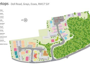 Thumbnail 1 bed flat for sale in Dell Road, Grays