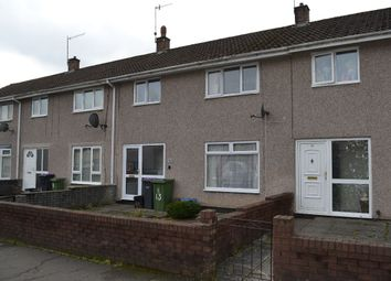 Thumbnail 3 bed terraced house to rent in Worcester Close, Llanyravon, Cwmbran