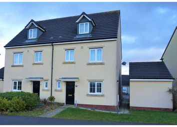 Thumbnail 4 bed semi-detached house for sale in Rhodfa'r Ceffyl, Kidwelly