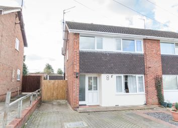 Thumbnail 3 bed semi-detached house to rent in Cherry Avenue, Wellingborough