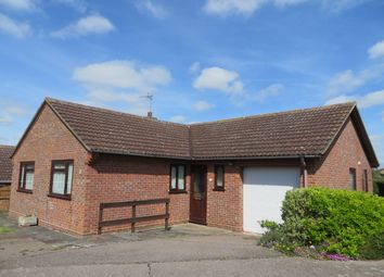 Thumbnail 3 bedroom detached bungalow for sale in Jermyn Way, Halesworth