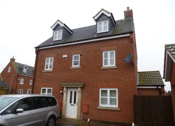 Thumbnail 5 bed detached house to rent in Bonnington Court, Spalding