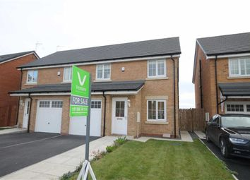 Thumbnail 3 bed semi-detached house for sale in Clement Way, Willington, County Durham