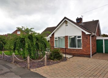 Thumbnail 2 bed detached bungalow for sale in Violet Avenue, Newthorpe