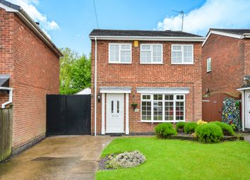 Thumbnail 3 bed detached house for sale in Fairview Avenue, Underwood, Nottingham
