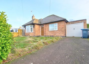 Thumbnail 2 bed bungalow for sale in Stretton Road, Great Glen