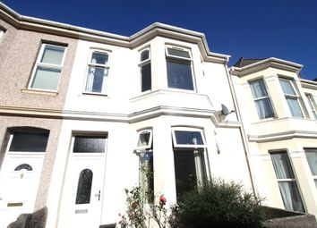Thumbnail 4 bed terraced house to rent in Grenville Road, Plymouth