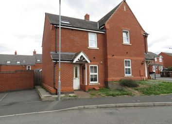 Thumbnail 3 bed property to rent in Farnborough Close, Corby