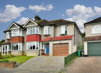 Thumbnail 5 bed semi-detached house to rent in Pine Walk, Banstead