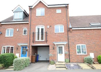 Thumbnail 3 bedroom town house for sale in Clough Drive, Burton-On-Trent