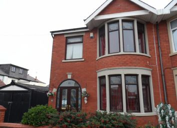 Thumbnail 3 bed semi-detached house for sale in Campbell Avenue, Blackpool