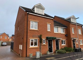 Thumbnail 3 bed town house for sale in Sugarhill Crescent, Cobblers Hall, Newton Aycliffe