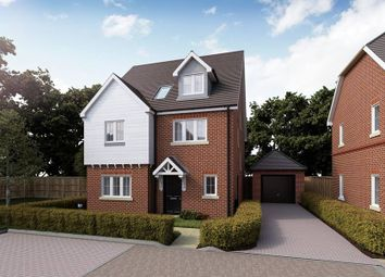 "Thumbnail 4 bed detached house for sale in ""The Quendon"" at Waterbutt Row, Cambridge Road, Quendon, Saffron Walden"