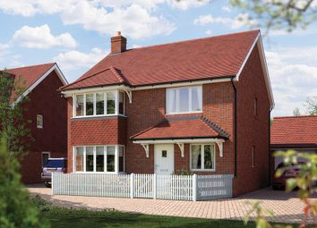 "Thumbnail 4 bedroom detached house for sale in ""The Canterbury"" at Church Road, Bishopstoke, Eastleigh"