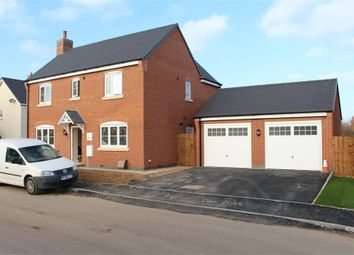 Thumbnail 4 bed detached house for sale in Boulton Close, Stoney Stanton, Leicester