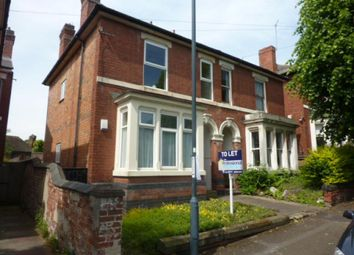 Thumbnail 1 bedroom flat to rent in Vicarage Avenue, New Normanton, Derby