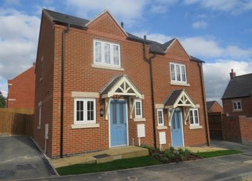 Thumbnail 2 bed semi-detached house for sale in Yew Tree Close, Smalley, Ilkeston