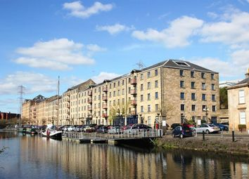Thumbnail 1 bed flat to rent in Speirs Wharf, Glasgow