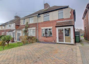Thumbnail 3 bed semi-detached house for sale in Castle Road, Walsall Wood, Walsall