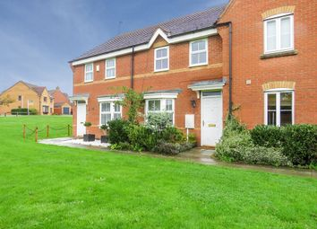 Thumbnail 3 bed terraced house for sale in Gladiator Close, Wootton, Northampton