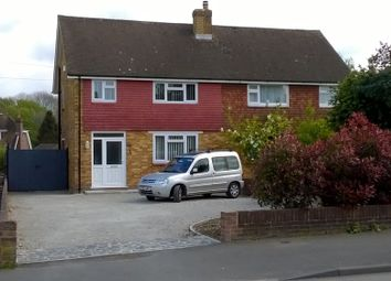 Thumbnail 3 bed semi-detached house to rent in Willington Street, Bearsted Maidstone, Maidstone, Kent