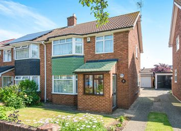 Thumbnail 3 bed semi-detached house for sale in Cambria Crescent, Gravesend