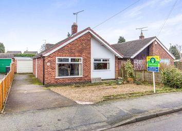 Thumbnail 2 bed bungalow for sale in Arnolds Crescent, Newbold Verdon, Leicester