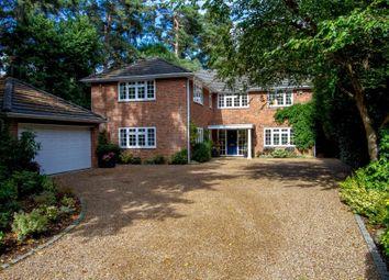 Thumbnail 5 bed detached house to rent in Cedar Road, Hook Heath, Woking