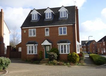 Thumbnail 5 bed detached house for sale in Snowshill Close, Daventry
