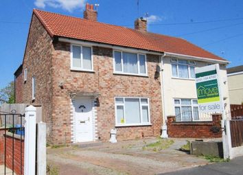 Thumbnail 3 bed semi-detached house for sale in Barford Road, Hunts Cross, Liverpool