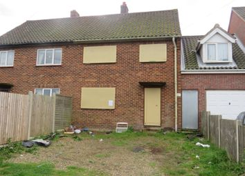 Thumbnail 3 bedroom terraced house for sale in Beck Close, Weybourne, Holt