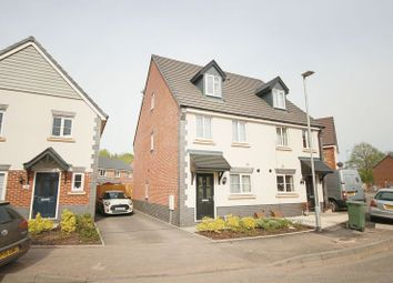 Thumbnail 3 bed semi-detached house for sale in Bentham Way, Eccleshall, Stafford