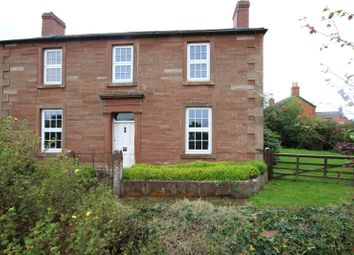 Thumbnail 4 bed semi-detached house for sale in The Poplars, Great Corby, Carlisle, Cumbria