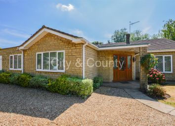 Thumbnail 4 bed detached bungalow for sale in Low Road, Crowland, Peterborough