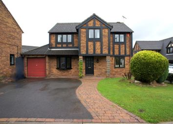 Thumbnail 4 bedroom detached house to rent in South Brae Close, Littleover, Derby