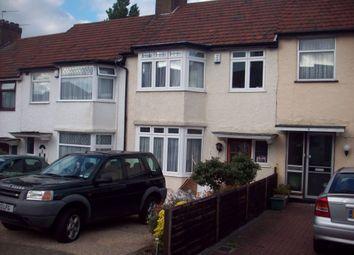 Thumbnail 3 bedroom terraced house to rent in Larkway Close, Kingsbury, London, UK