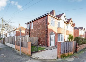 Thumbnail 3 bed semi-detached house for sale in Leamington Road, Reddish, Stockport