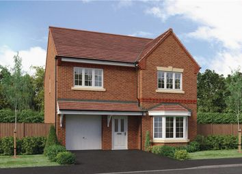 "Thumbnail 4 bed detached house for sale in ""Hollingwood"" at Park Lane, Castle Donington, Derby"