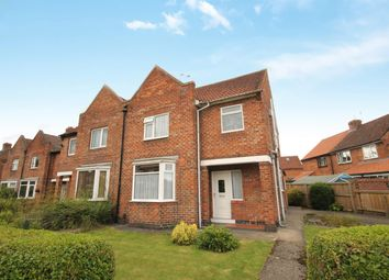 Thumbnail 3 bed semi-detached house for sale in Swale Avenue, Dringhouses, York