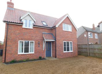 Thumbnail 4 bed detached house to rent in Back Lane, Wymondham, Norfolk