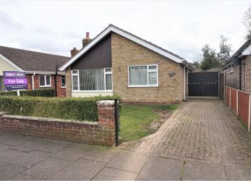 Thumbnail 3 bed detached bungalow for sale in Seaford Road, Cleethorpes