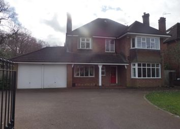 Thumbnail 4 bedroom property to rent in Widney Lane, Shirley, Solihull