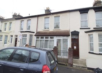 Thumbnail 3 bed terraced house for sale in Regent Road, Gillingham, Kent.