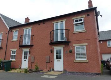 Thumbnail 1 bed maisonette to rent in St. Martins Close, Church Gresley, Swadlincote