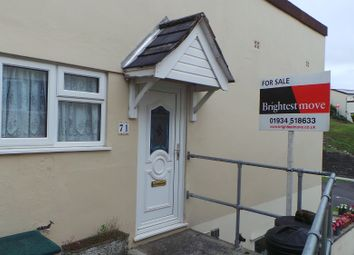 Thumbnail 2 bed terraced bungalow for sale in Ashcombe Gardens, Weston-Super-Mare