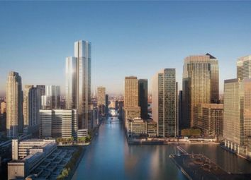 Thumbnail Studio for sale in Valiant Tower, South Quay Plaza, Docklands