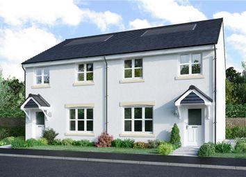 "Thumbnail 3 bed semi-detached house for sale in ""Meldrum"" at Lasswade Road, Edinburgh"