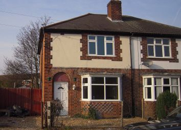 Thumbnail 3 bed semi-detached house to rent in Strathmore Avenue, Rushey Mead