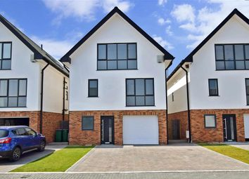 Thumbnail 4 bedroom detached house for sale in Prime View, Littlestone, Kent